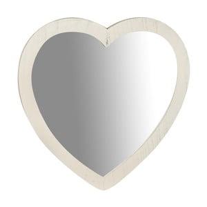 Zrkadlo v tvare srdca Biscottini Heart,45x45cm