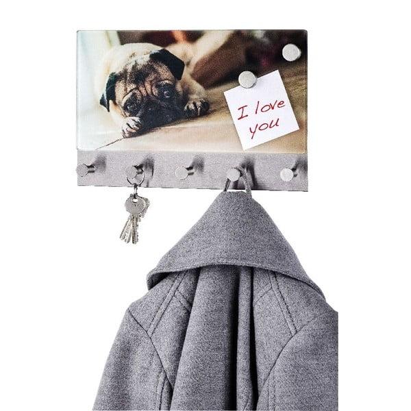 Magnetický vešiak na kabáty Wenko Pug