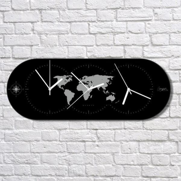 Nástenné hodiny The World