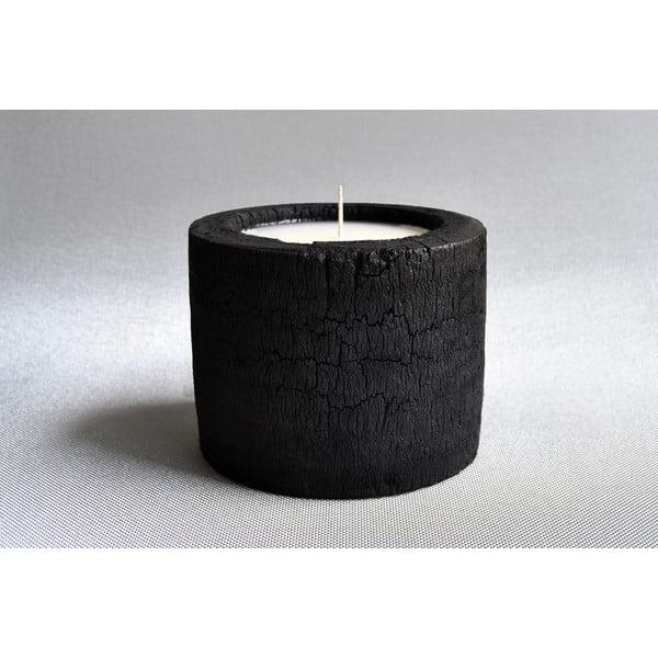 Palmová sviečka Legno s vôňou vanilky a pačuli, 80 hodín horenia