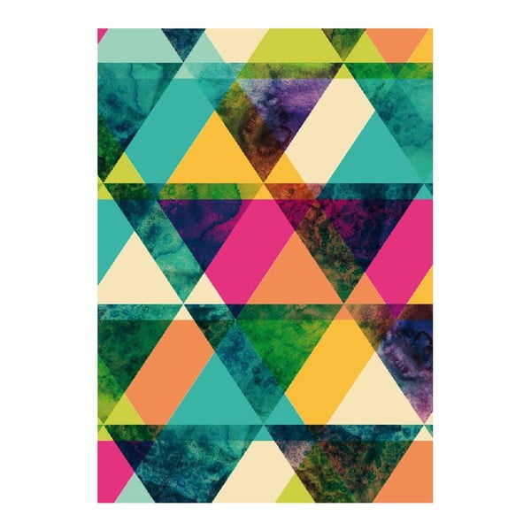 Plagát Just Triangle, A3