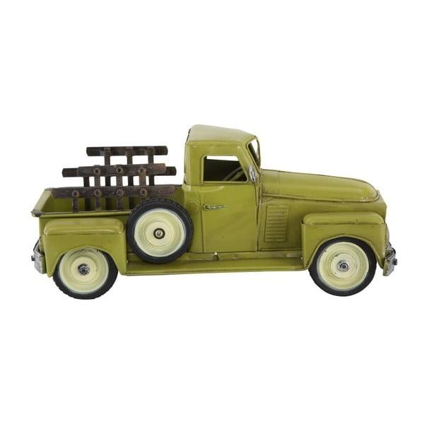 Zelené dekoratívne auto Mauro Ferretti Old Country