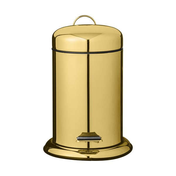 Kuchynský pedálový odpadkový kôš v zlatej farbe Bloomingville Dustbin