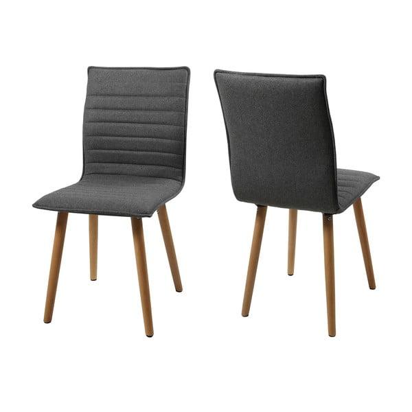Jedálenská stolička Karla, svetlosivá