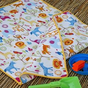 Plážová detská deka Cream, 65x90 cm