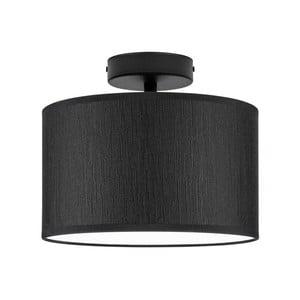 Čierne stropné svietidlo Bulb Attack Doce, ⌀ 25 cm