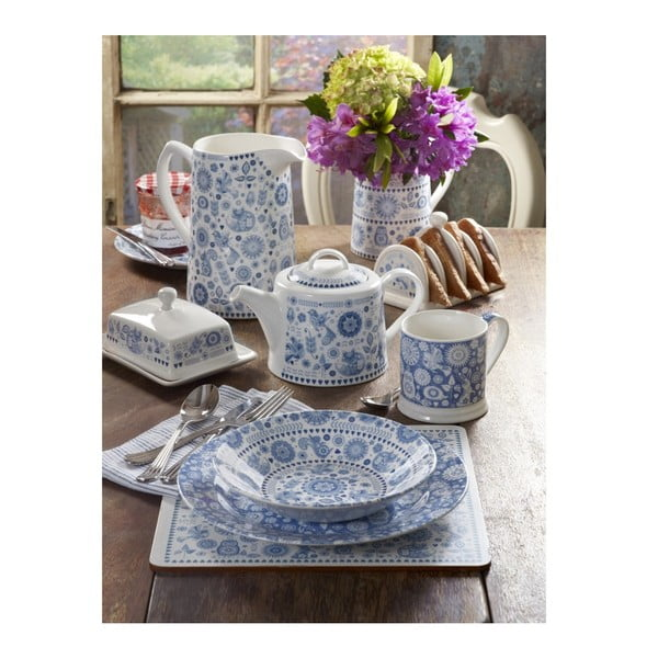 Hrnček s tanierikom Churchill China Penzace Stratford, 200 ml