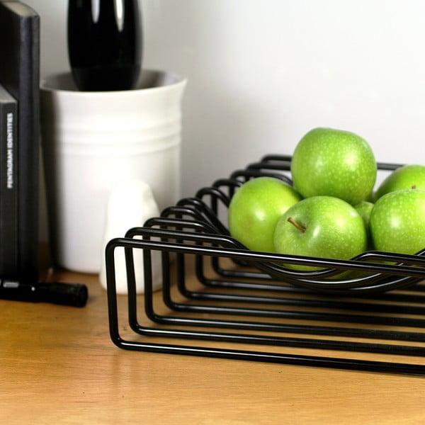 Misa na ovocie Wire Fruit, čierna