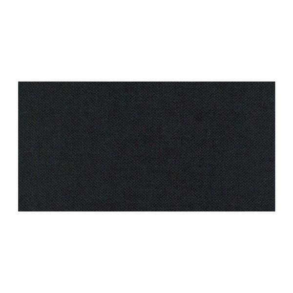 Čierno-antracitová rozkladacia pohovka Modernist Pashmina, pravý roh