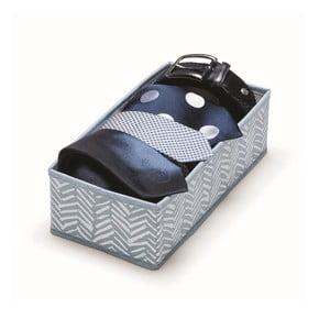 Modrý úložný box Cosatto Tweed, dĺžka 28 cm