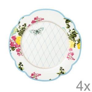 Porcelánový tanier  Florence od Lisbeth Dahl, 19 cm, 4 ks