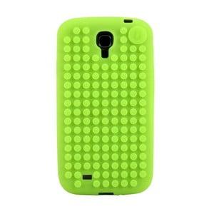 Pixelový obal na Samsung S4, jablkovo zelená