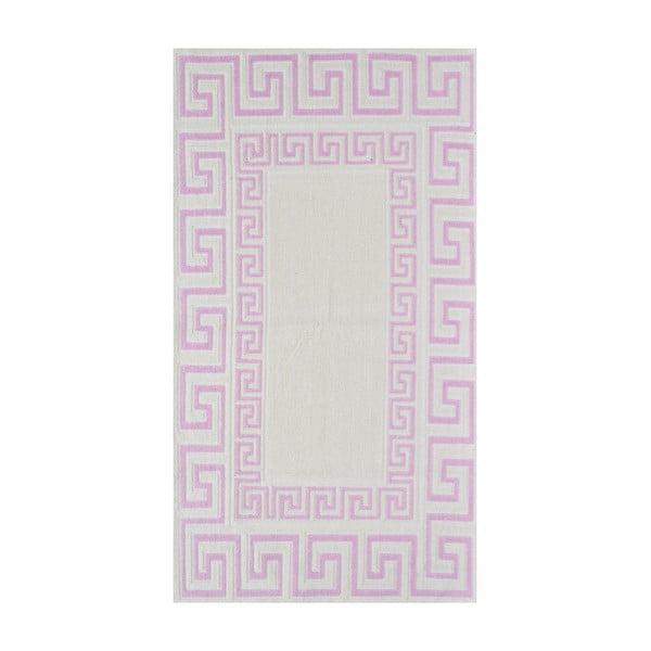 Staroružový odolný koberec Vitaus Versace, 140x200cm