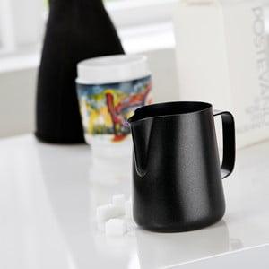 Čierna antikoro nádoba na mlieko Steel Function Milk Black, 350 ml