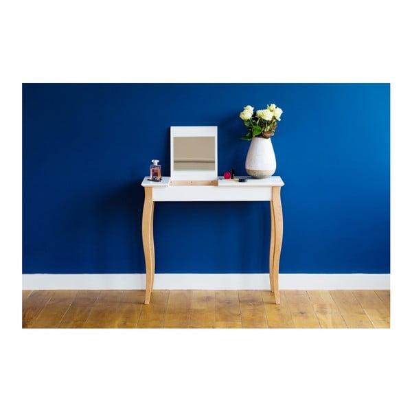 Tmavotyrkysový toaletný stolík sozrkadlom Ragaba Dressing Table,dĺžka105cm