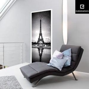 Samolepka na dvere Eurographics Eiffel Tower