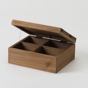 Drevený box Compactor Vintage Box, 18,2x15,2 cm