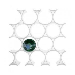 Biely stojan na víno Kartell Infinity