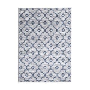 Sivý vysokoodolný koberec Floorita Tibet, 80 x 150 cm