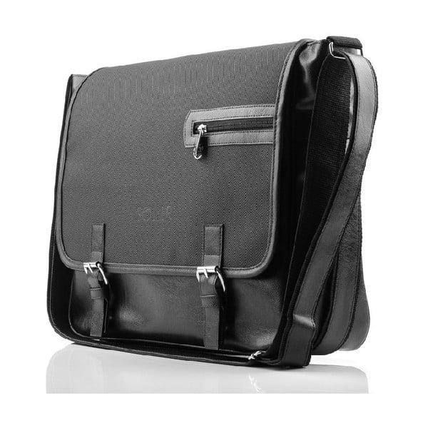 Pánska taška Solier S12, čierna