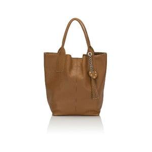 Kožená kabelka Giorgio Costa 15025 Cognac W