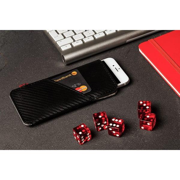 Púzdro s vreckom na iPhone 6 Slim z pravej kože Éstie