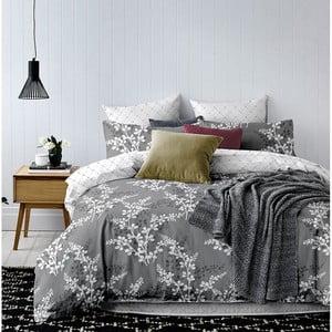 Sivé obliečky z mikrovlákna DecoKing Calluna, 140×200cm
