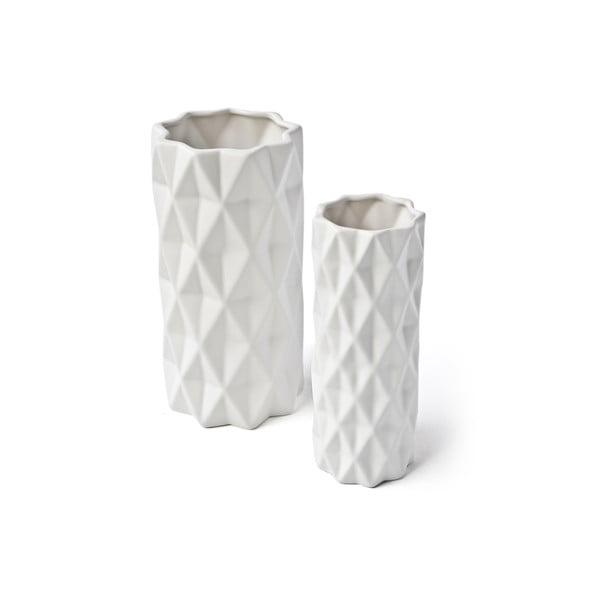 Biela váza Hawke&Thorn, výška22cm
