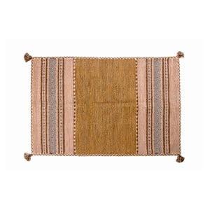 Ručne tkaný koberec Kilim Tribal 107, 90x60 cm