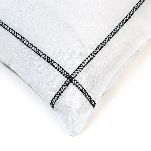 Obliečka na vankúš Basic Black, 50 x 50 cm