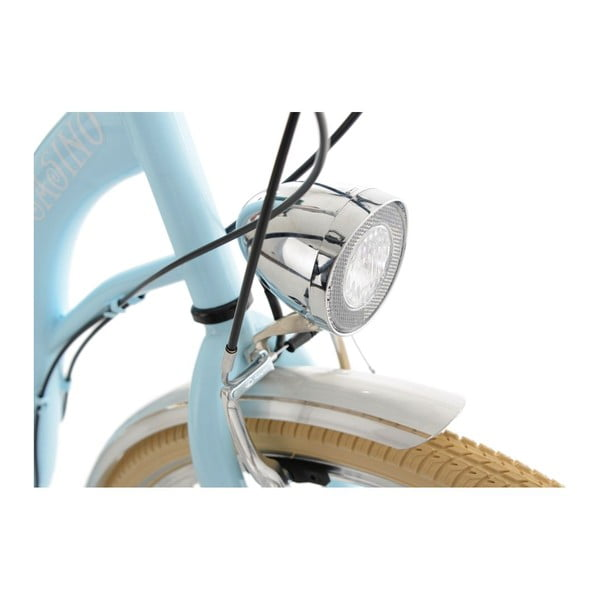 Bicykel City Bike Casino Light Blue 28'', výška rámu 48 cm, 6 prevodov