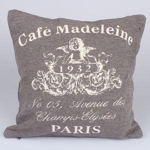 Obliečka na vankúš Café Paris, béžový