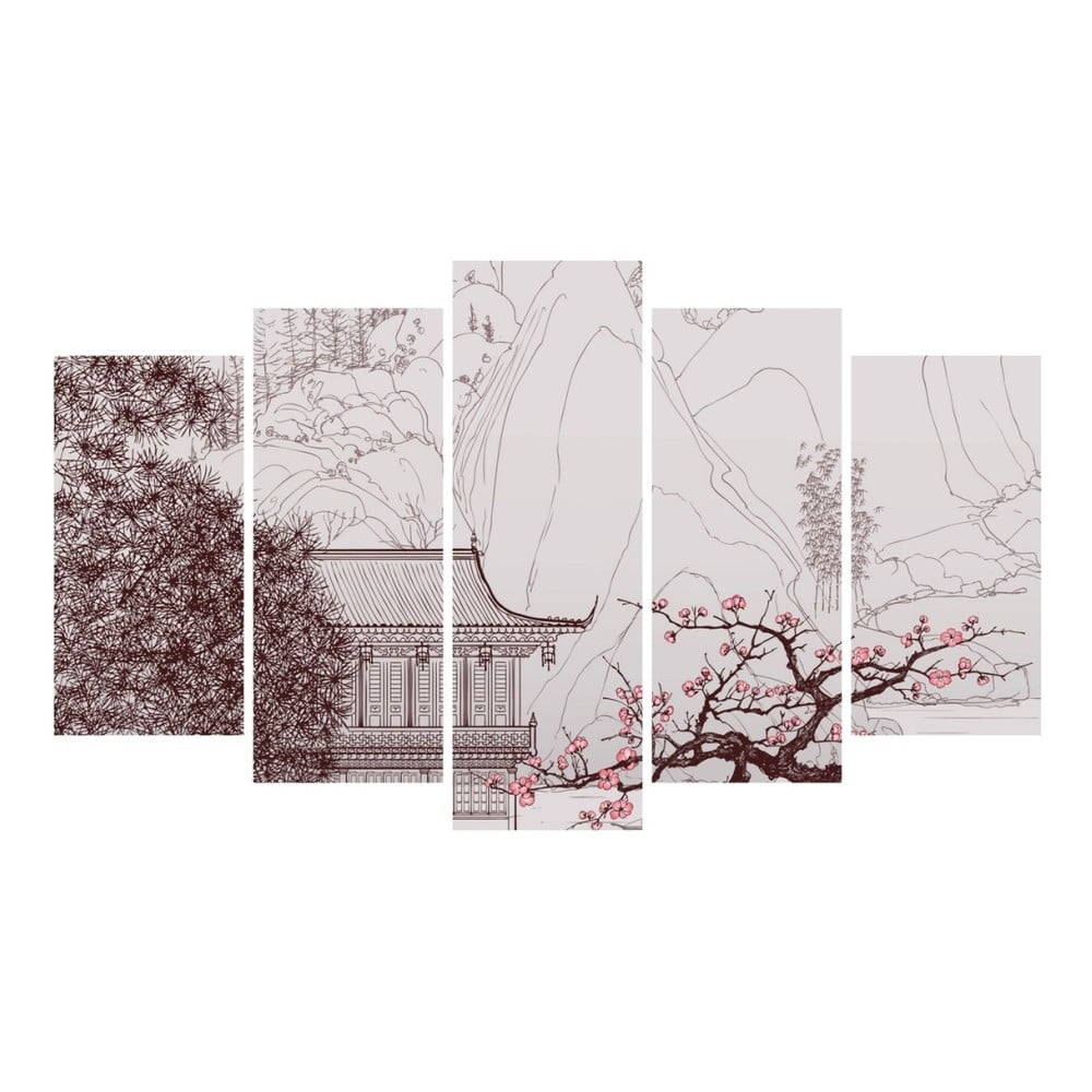 Viacdielny obraz 3D Art Calm, 102 × 60 cm