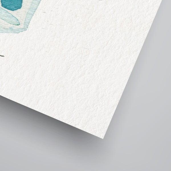 Plagát Americanflat Summer Cocktails, 30×42cm