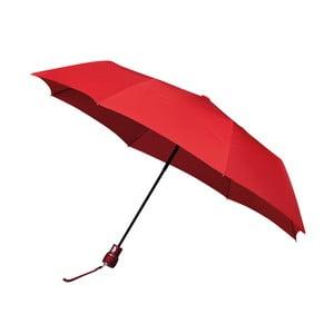 Vetruodolný červený skladací dáždnik Ambiance Mini-Max, ⌀ 100 cm