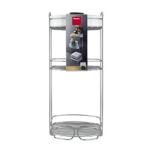 Trojposchodový stojan do kúpeľne Metaltex, výška 65 cm