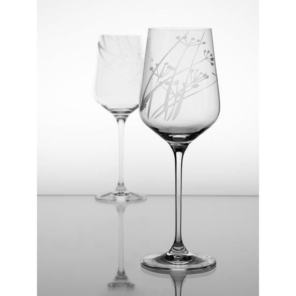 Ateliér Žampach, set 2 ks pohárov na biele víno Rasca