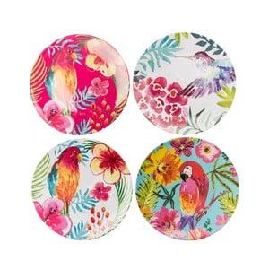 Sada 4 plastových tanierov Navigate Color