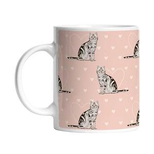 Keramický hrnček Darling Cats, 330 ml