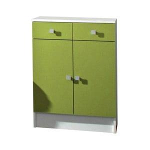 Zelená kúpeľňová skrinka 13Casa Click