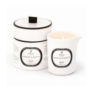 Masážna sviečka s vôňou eukalyptu a škorice Parks Candles London Deep Heat and Warming, 50 hodín horenia