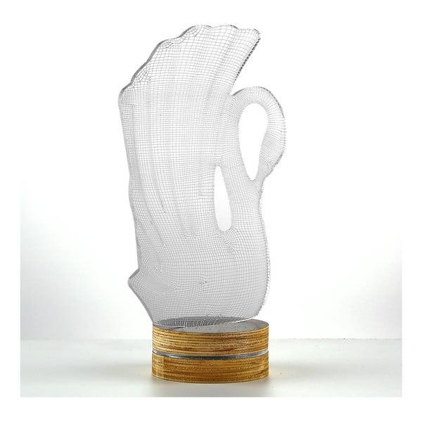 3D stolová lampa Swan