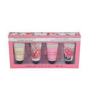 Sada 4 krémov na ruky v darčekovom balení Tri-Coastal Design Roses
