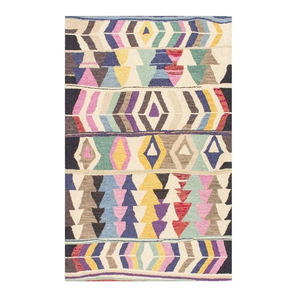 Vlnený koberec Aztec Multi, 152x244 cm