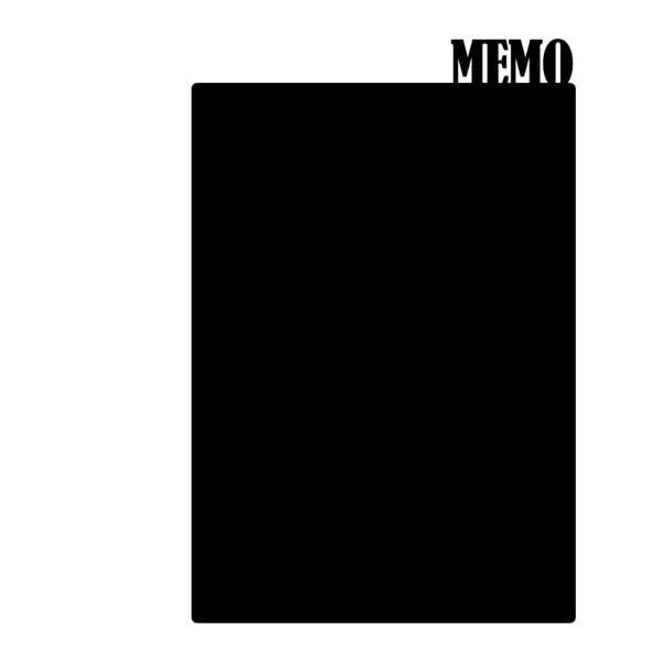 Dekoratívna tabuľová samolepka Memo