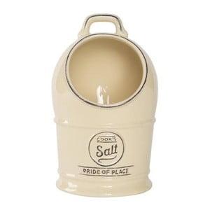 Krémová keramická dóza na sůl T&G Woodware Pride Of Place