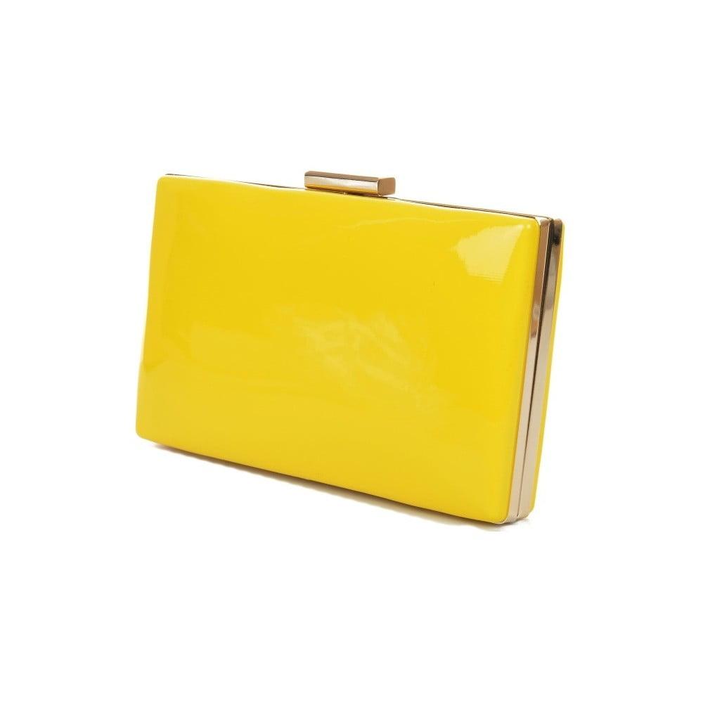 2e099ff4ad2 ... Žltá listová kabelka Mangotti Bags Alba ...