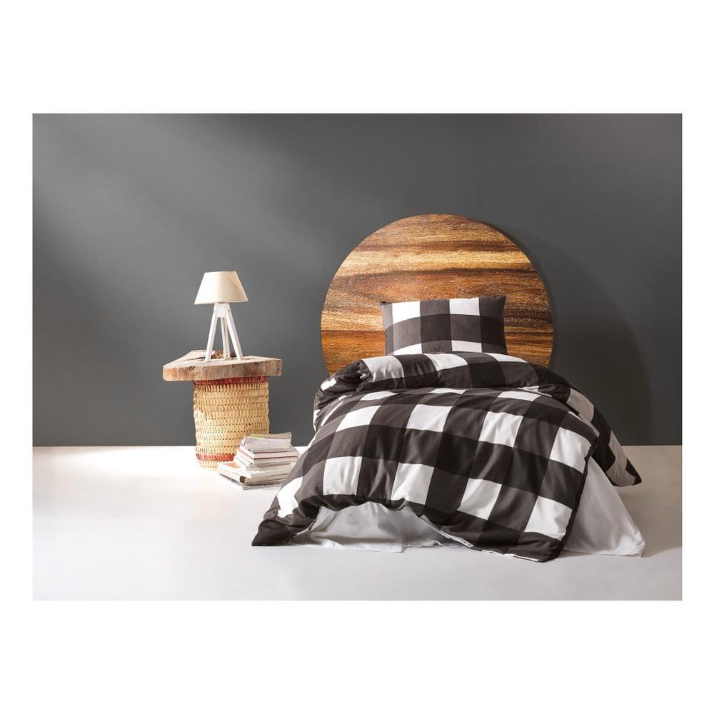 Obliečky s plachtou na jednolôžko s prímesou bavlny Garrudo Tento, 160 × 220 cm