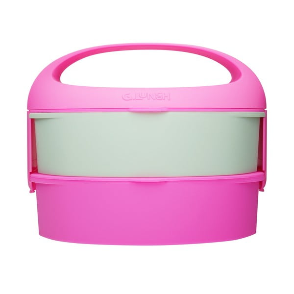 Desiatová krabička Bento G Lunch Gum Pink