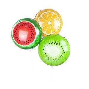 Sada 3 farebných balónikov Talking Tables Fruit